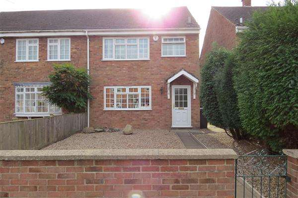 3 Bedrooms Semi Detached House for sale in Main Street, Thornton, Coalville