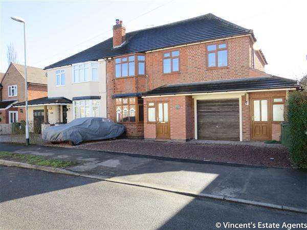 5 Bedrooms Semi Detached House for sale in Kirloe Avenue, Leicester Forest East, Leicester