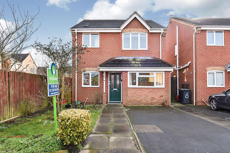 3 Bedrooms Detached House for sale in Stadium Close, Coalville, LE67