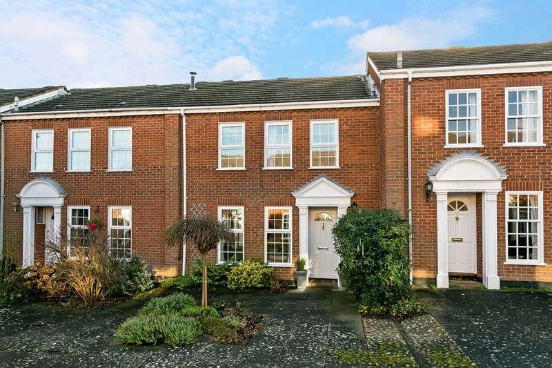 3 Bedrooms Terraced House for sale in Cranbrook Drive, nr Pinkney Green National Trustl lands