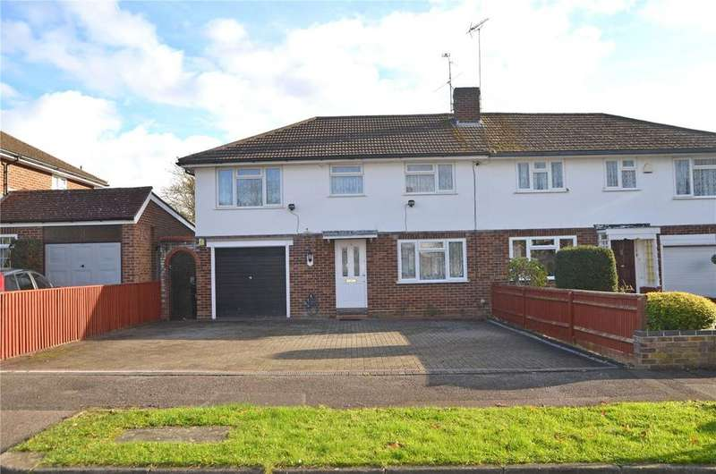 4 Bedrooms Semi Detached House for sale in Ainsdale Crescent, Reading, Berkshire, RG30