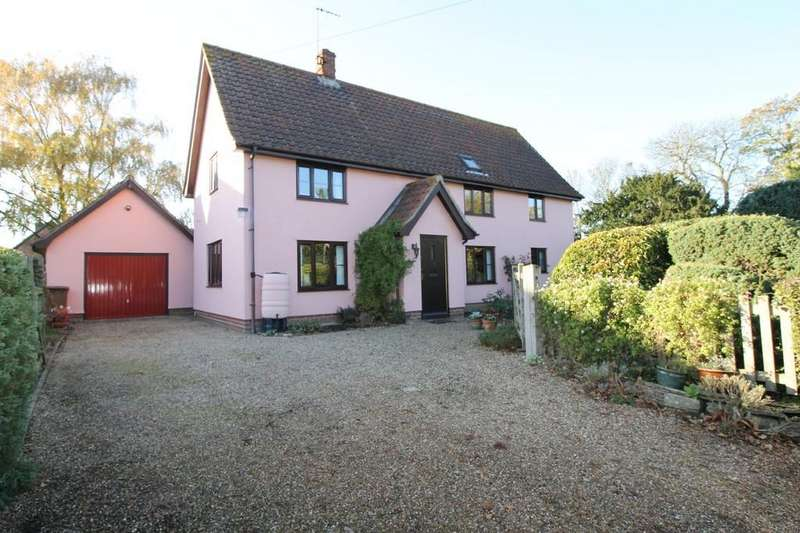 3 Bedrooms Detached House for sale in Wilby, Nr Stradbroke