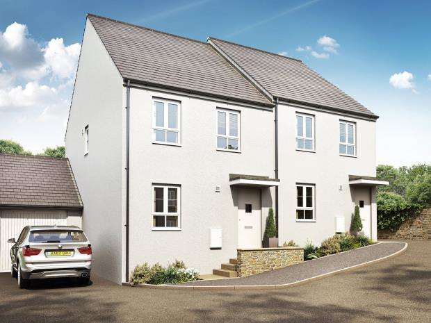 3 Bedrooms Semi Detached House for sale in Penndrumm Fields, St Martin Road, St. Martin, Looe