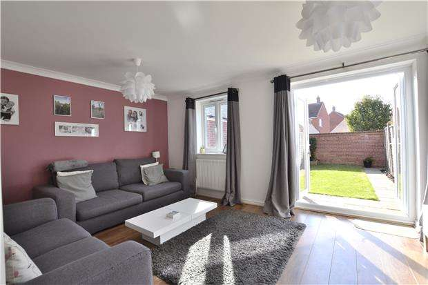4 Bedrooms Town House for sale in Typhoon Way, Brockworth, GLOUCESTER, GL3 4DY