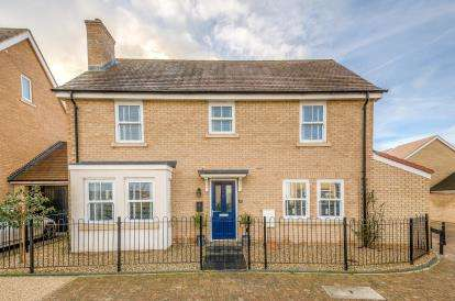 4 Bedrooms Detached House for sale in Gemini Lane, Biggleswade, Bedfordshire