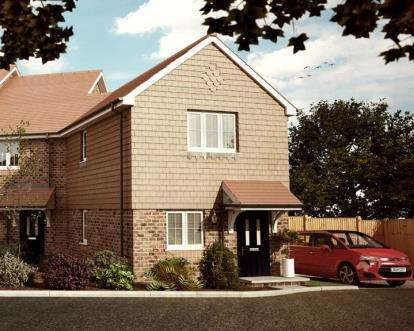 2 Bedrooms End Of Terrace House for sale in Hunts Pond Road, Titchfiled Common, Hampshire