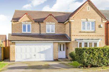5 Bedrooms Detached House for sale in Billesdon Close, Leicester, Leicestershire