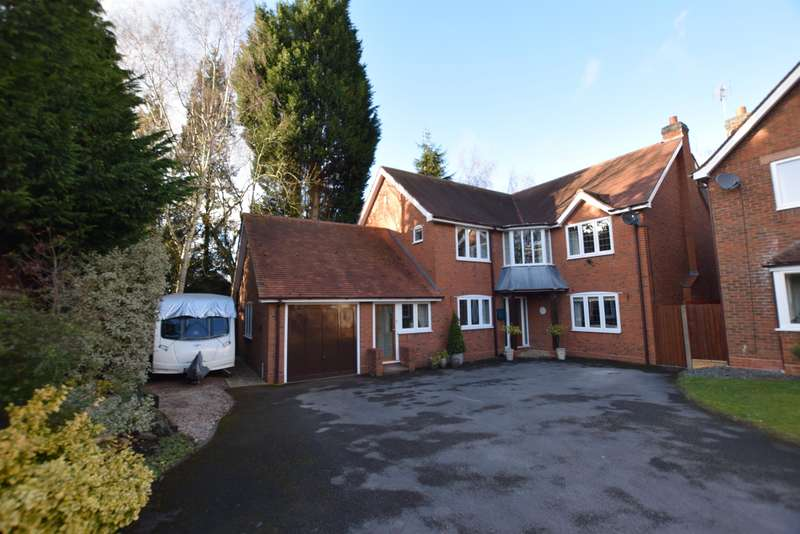 5 Bedrooms Detached House for sale in Hawkeswell Close, Solihull, B92 7BD