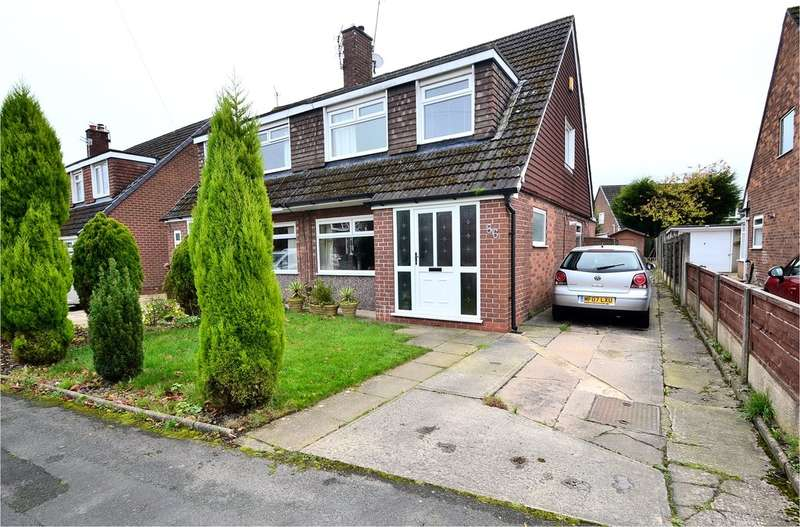 3 Bedrooms Semi Detached House for sale in Penrhyn Crescent, Hazel Grove, Stockport SK7 5ND