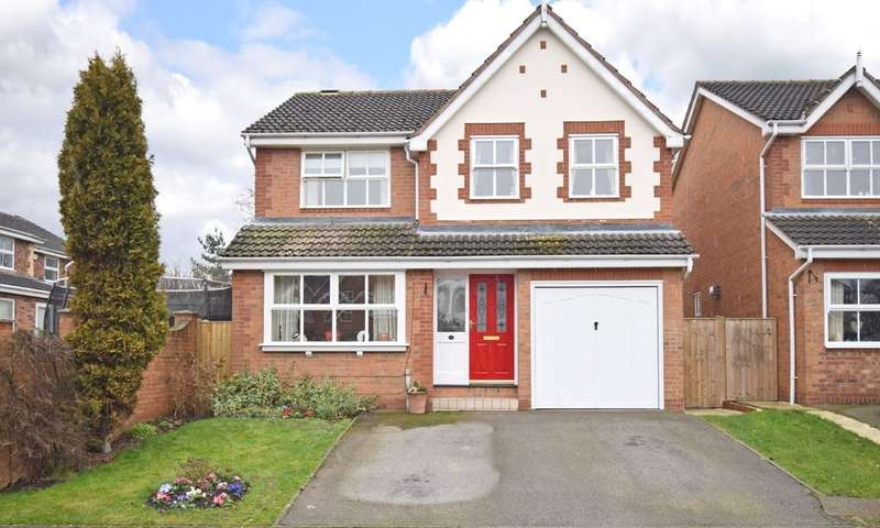 4 Bedrooms Detached House for sale in Muirfield Drive, Thornes, Wakefield