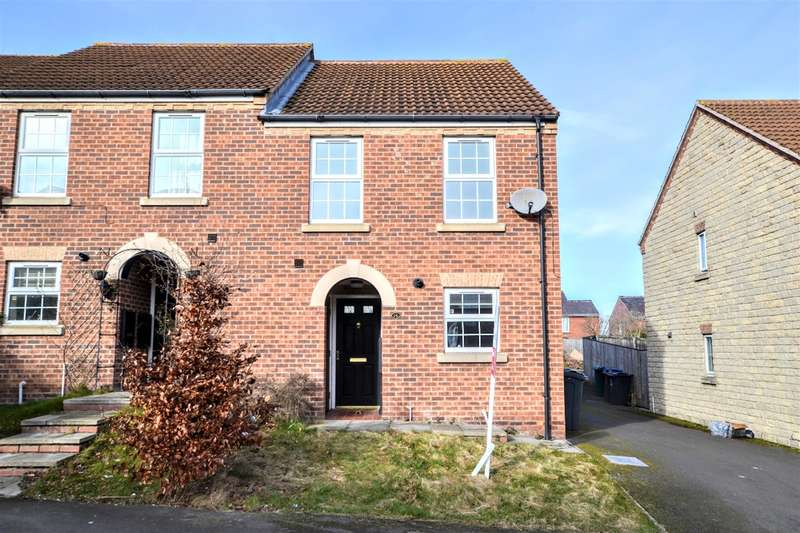 3 Bedrooms Semi Detached House for sale in Chestnut Crescent, Barnsley, S70 3NW