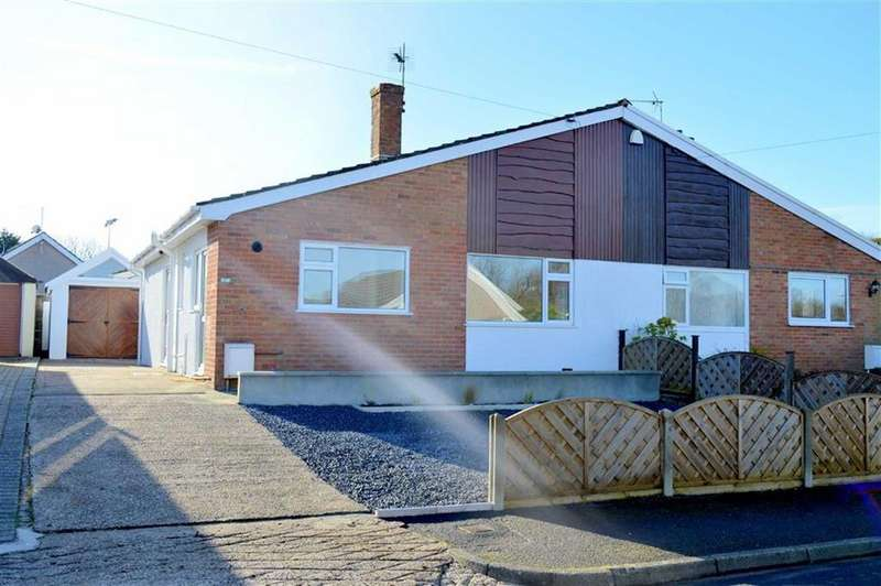 2 Bedrooms Semi Detached Bungalow for sale in Summerland Park, Upper Killay, SWANSEA