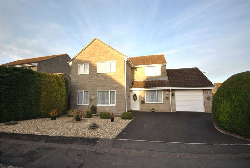 4 Bedrooms Detached House for sale in Playfield Close, Henstridge, Templecombe, Somerset, BA8