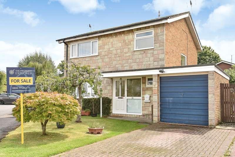 3 Bedrooms Detached House for sale in Marigold Close , Kempshott , Basingstoke, RG22