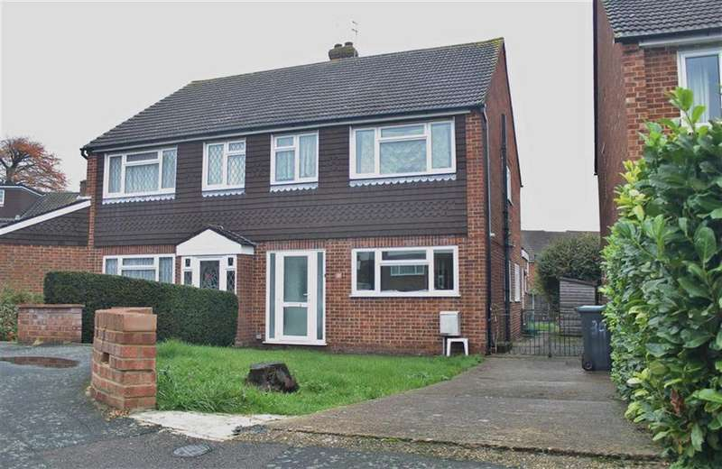3 Bedrooms Semi Detached House for sale in Ediva Road, Meopham