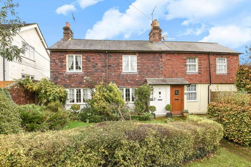 4 Bedrooms Semi Detached House for sale in Crabtree Cottages, Brighton Road, Lower Beeding, RH13