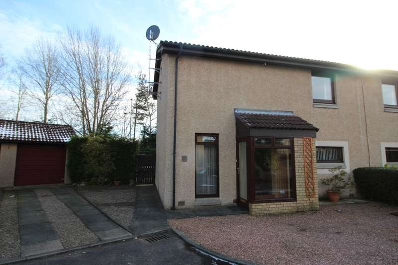 2 Bedrooms Semi Detached House for sale in Benalder Court, Glenrothes, KY7