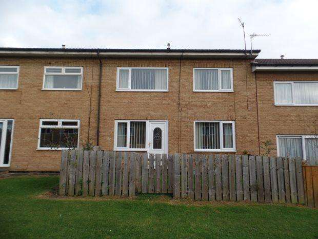 3 Bedrooms Terraced House for sale in PENTLAND CLOSE, PETERLEE, PETERLEE