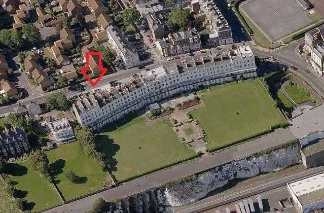 16 Bedrooms Land Commercial for sale in Royal Crescent, St. Augustines Road, Ramsgate