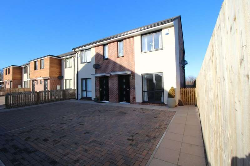 2 Bedrooms Semi Detached House for sale in Holly Tree Mews, Normanton, WF6