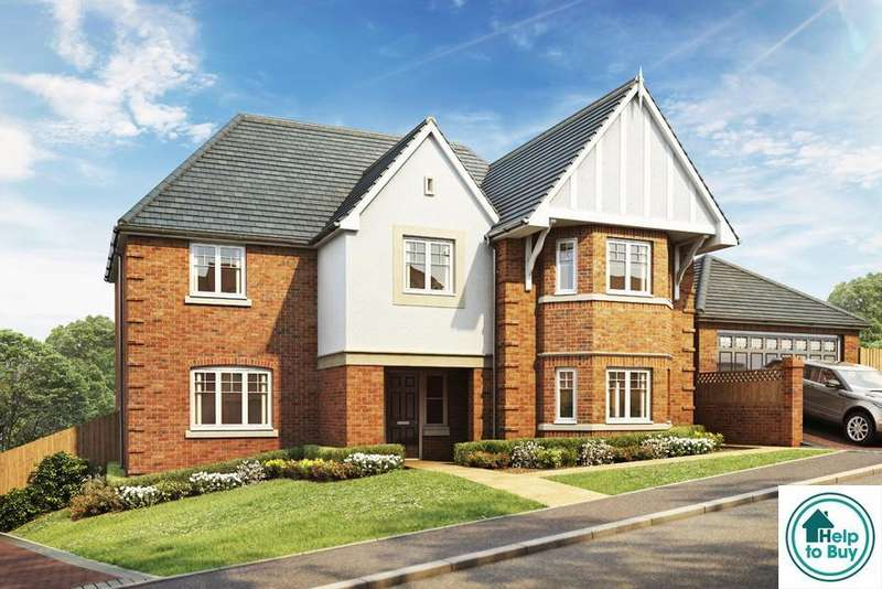 5 Bedrooms Detached House for sale in The Albury, Haywood Grove, off Coley Lane, Little Haywood, ST18