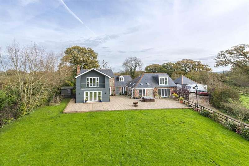 5 Bedrooms Detached House for sale in The Causeway, Hazelbury Bryan, Sturminster Newton, Dorset