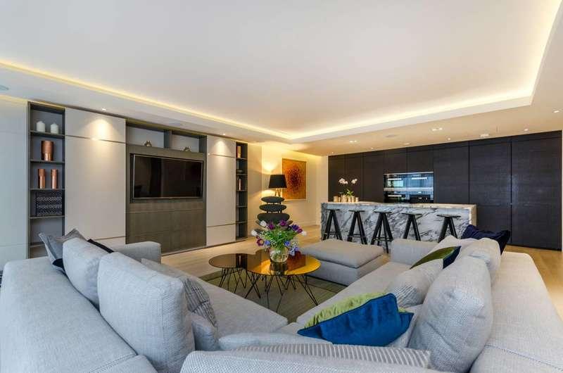 3 Bedrooms Flat for rent in Park Street, Chelsea Creek, SW6
