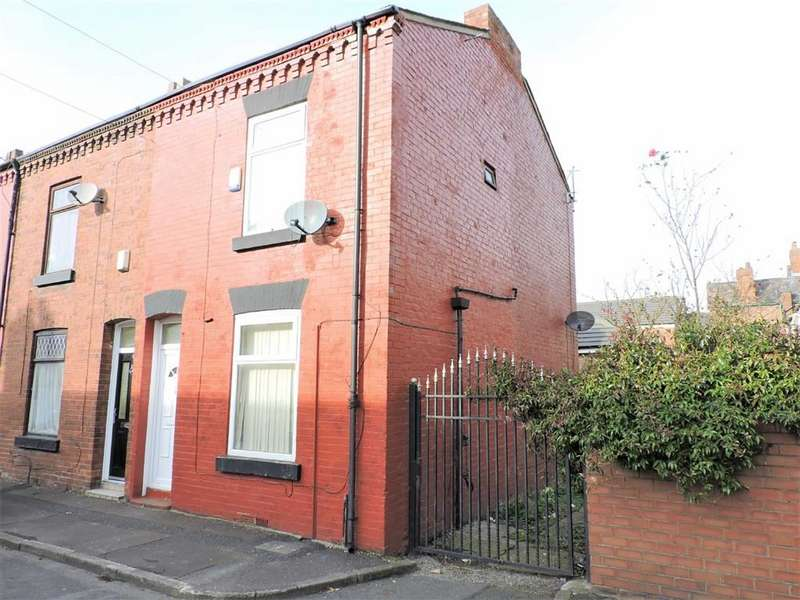 3 Bedrooms End Of Terrace House for sale in Harwich Close, Manchester
