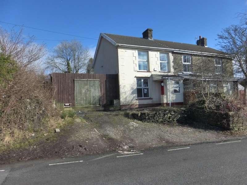 2 Bedrooms Semi Detached House for sale in Penycoedcae Road, Beddau, Pontypridd