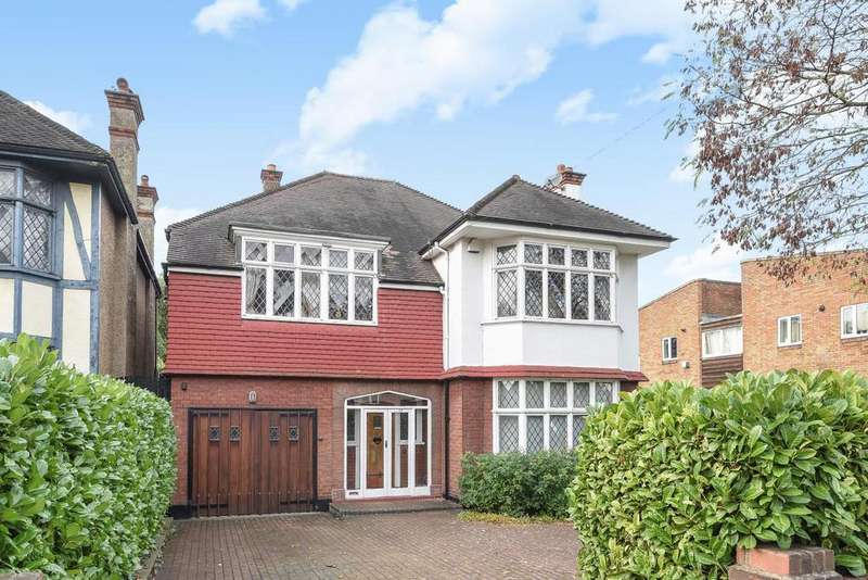 4 Bedrooms Detached House for sale in Woodfield Avenue, Streatham