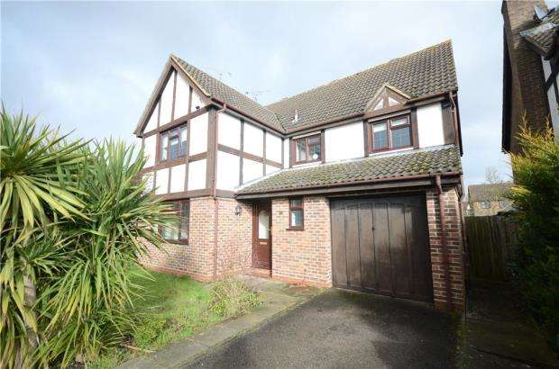 4 Bedrooms Detached House for sale in Reynolds Green, College Town, Sandhurst