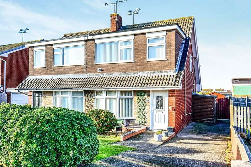 3 Bedrooms Semi Detached House for sale in Bastion Gardens, Prestatyn, LL19