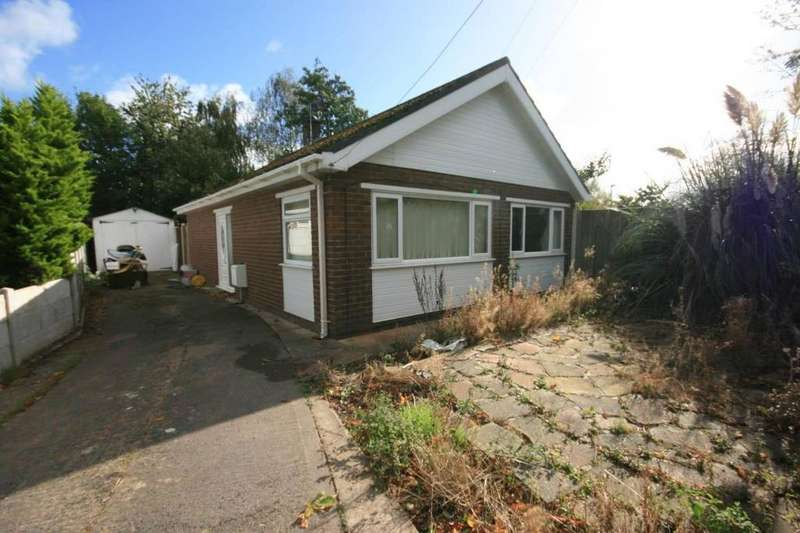 2 Bedrooms Detached Bungalow for sale in 45 Nant Y Glyn, Llandudno Junction, LL31 9LG
