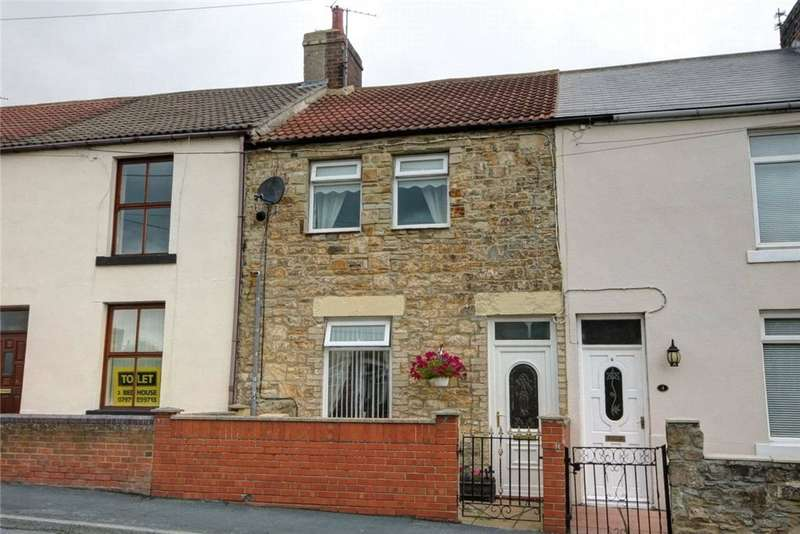2 Bedrooms Terraced House for sale in Park Road, Witton Park, Bishop Auckland, DL14