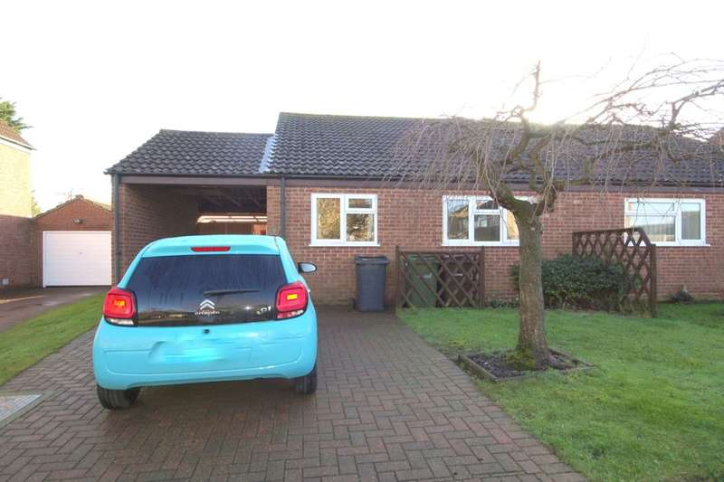 2 Bedrooms Bungalow for sale in Thrush Close, Mulbarton, Norwich, NR14