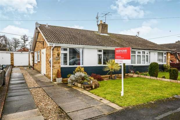 3 Bedrooms Semi Detached Bungalow for sale in Willow Glade, Huntington, YORK
