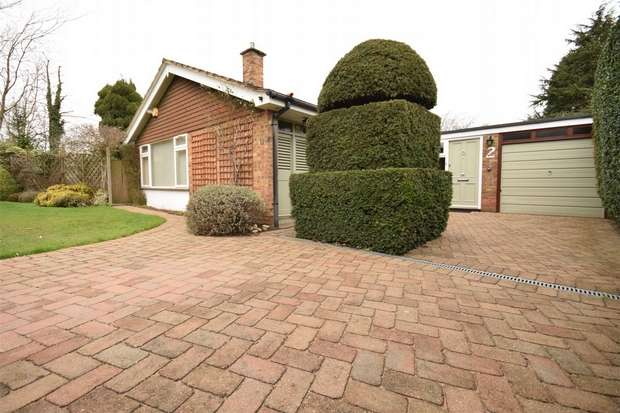4 Bedrooms Detached Bungalow for sale in 2 Woodfields, Chipstead, Sevenoaks, Kent