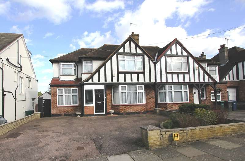 4 Bedrooms Semi Detached House for sale in Hillside Gardens, Edgware, Greater London. HA8 8HD