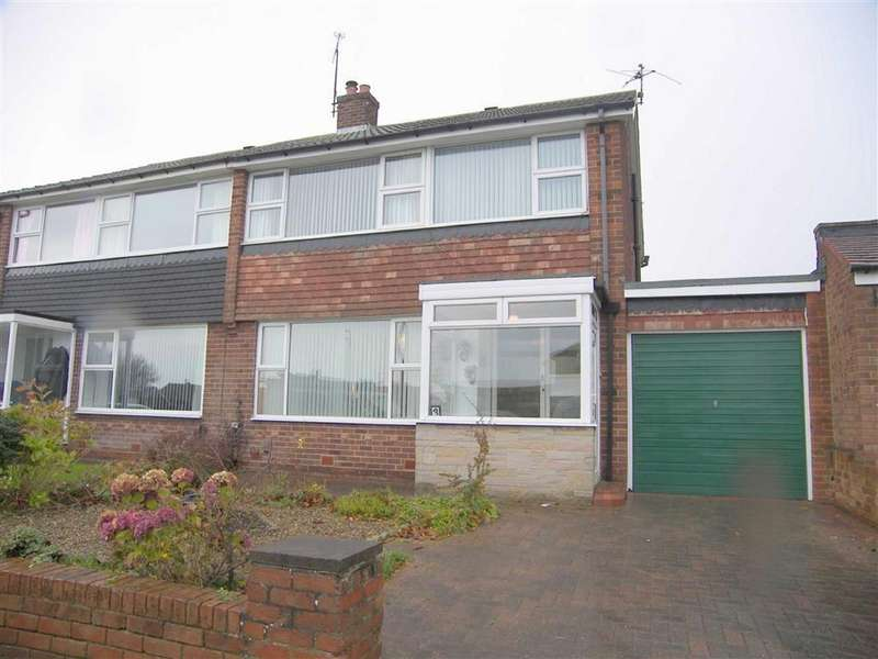 3 Bedrooms Semi Detached House for sale in Shaftesbury Crescent, Marden Farm, NE30