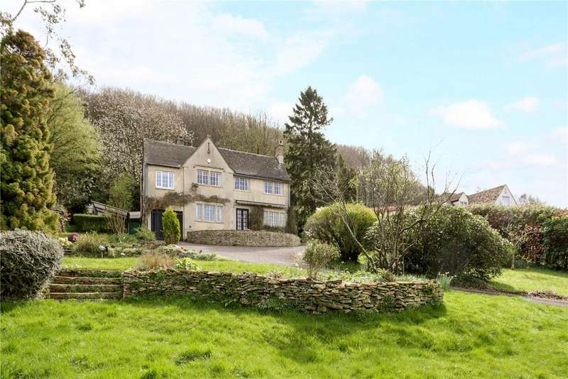 4 Bedrooms Detached House for sale in Longridge, Sheepscombe, Stroud, Gloucestershire, GL6