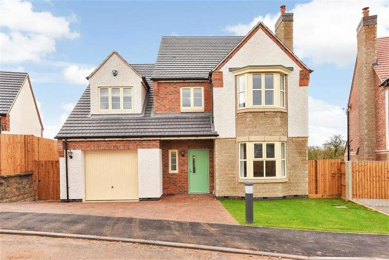 4 Bedrooms Detached House for sale in Spencer Close, Glenfield