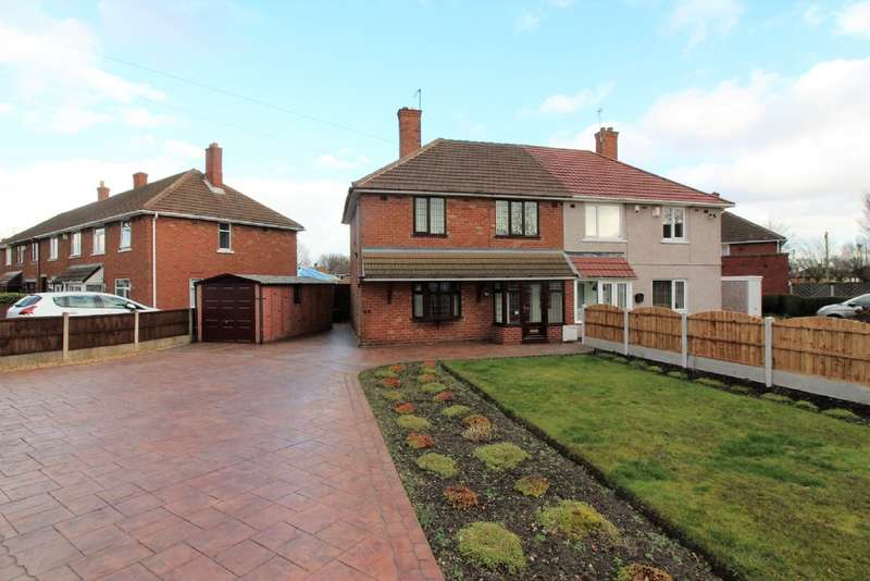 3 Bedrooms Semi Detached House for sale in Milford Avenue, Willenhall