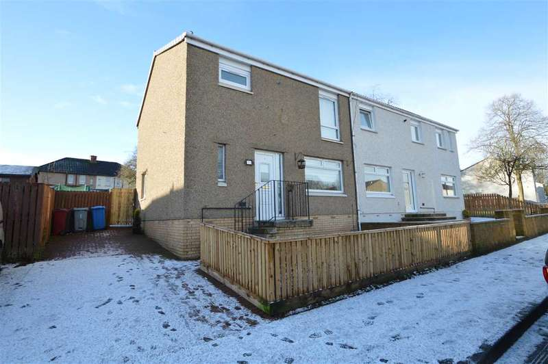 3 Bedrooms Semi Detached House for sale in Ness Drive, Blantyre