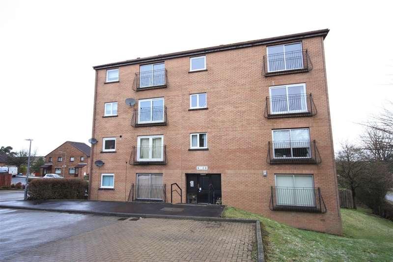 2 Bedrooms Flat for sale in Kirkcudbright Place, East Kilbride