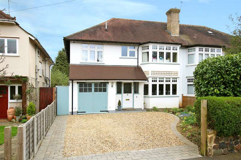 4 Bedrooms Semi Detached House for sale in Park Avenue, St. Albans, Hertfordshire, AL1