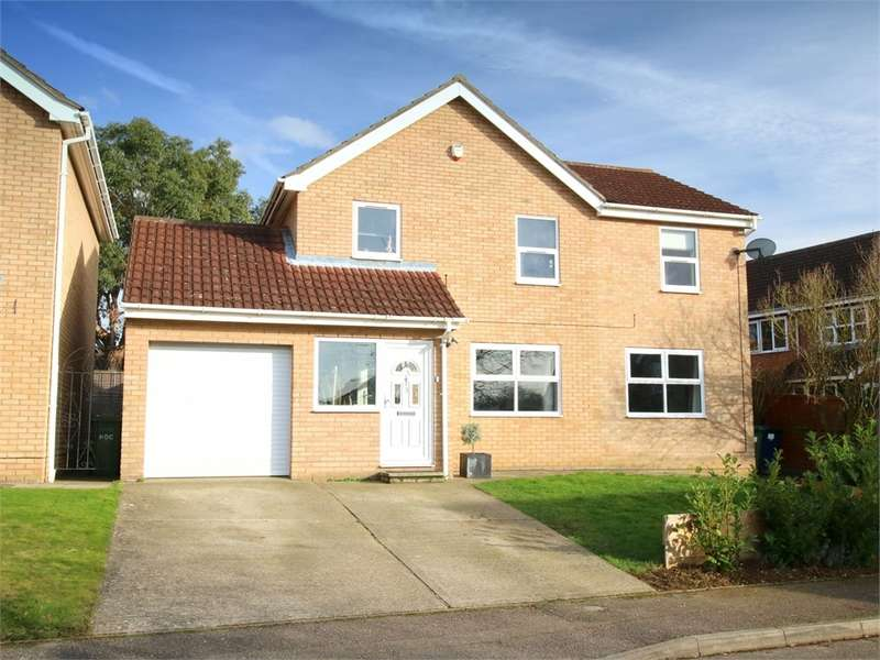 5 Bedrooms Detached House for sale in Eaton Socon, ST NEOTS