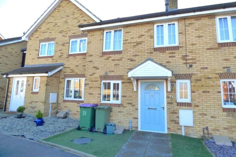 2 Bedrooms Terraced House for sale in Campbell Road, Hawkinge, Folkestone, CT18