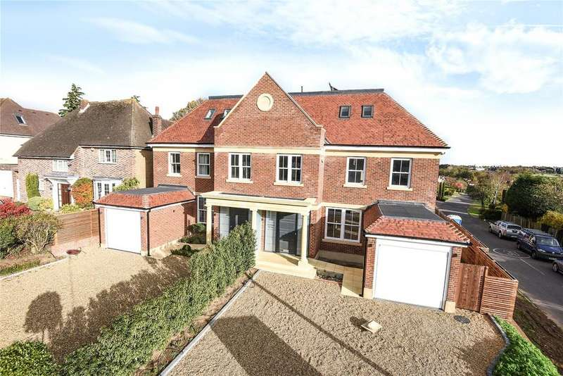 6 Bedrooms Semi Detached House for sale in Mymms Drive, Brookmans Park, Hatfield, Hertfordshire, AL9