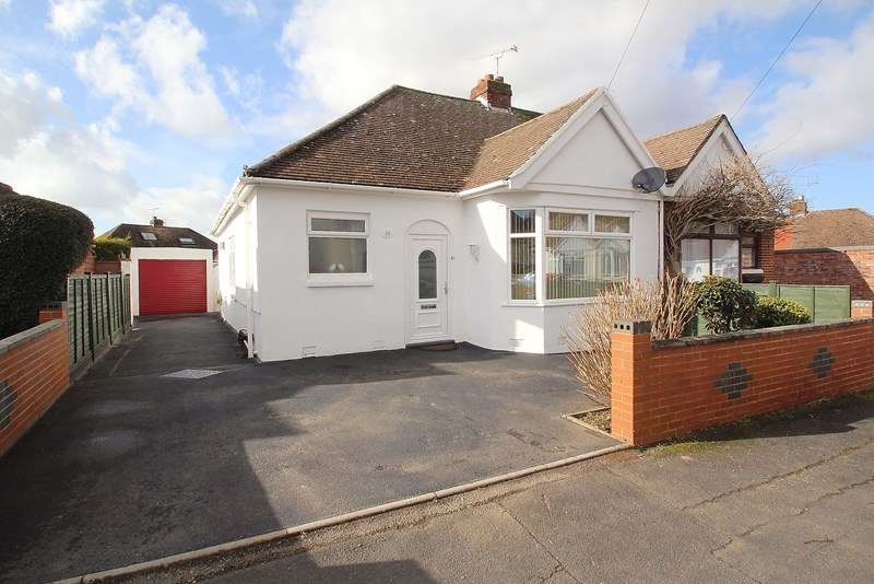 2 Bedrooms Semi Detached Bungalow for sale in Chamberlain Grove, Fareham