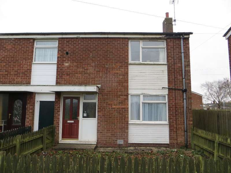 2 Bedrooms End Of Terrace House for sale in Clanthorpe, Thorpe Park Road. O.P.E., Hull, HU6 9HE